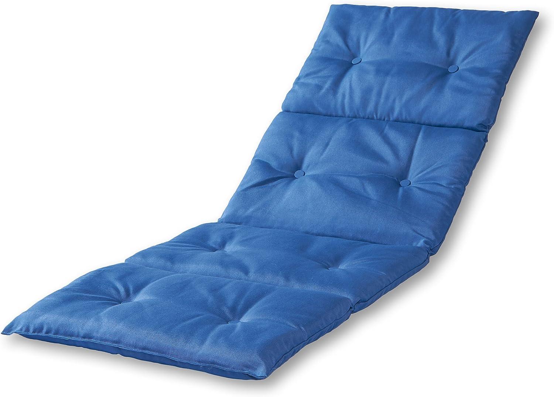 Greendale Home Fashions AZ7910-MARINEBLUE Blue Outdoor Chaise Pad