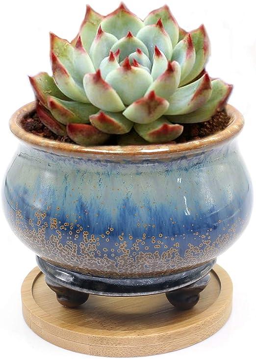 Maceta suculenta hecha a mano, recipiente de cerámica hecho a mano ...