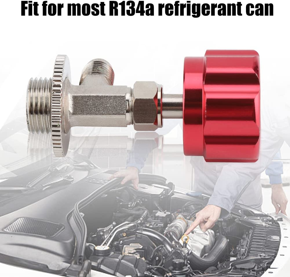 R-134A Car Refrigerant Can Tap Dispensing Valve Bottle Opener M14 1//4 for Air Conditioning 1//4 SAE R134a Interface Thread Refrigerant Bottle Opener