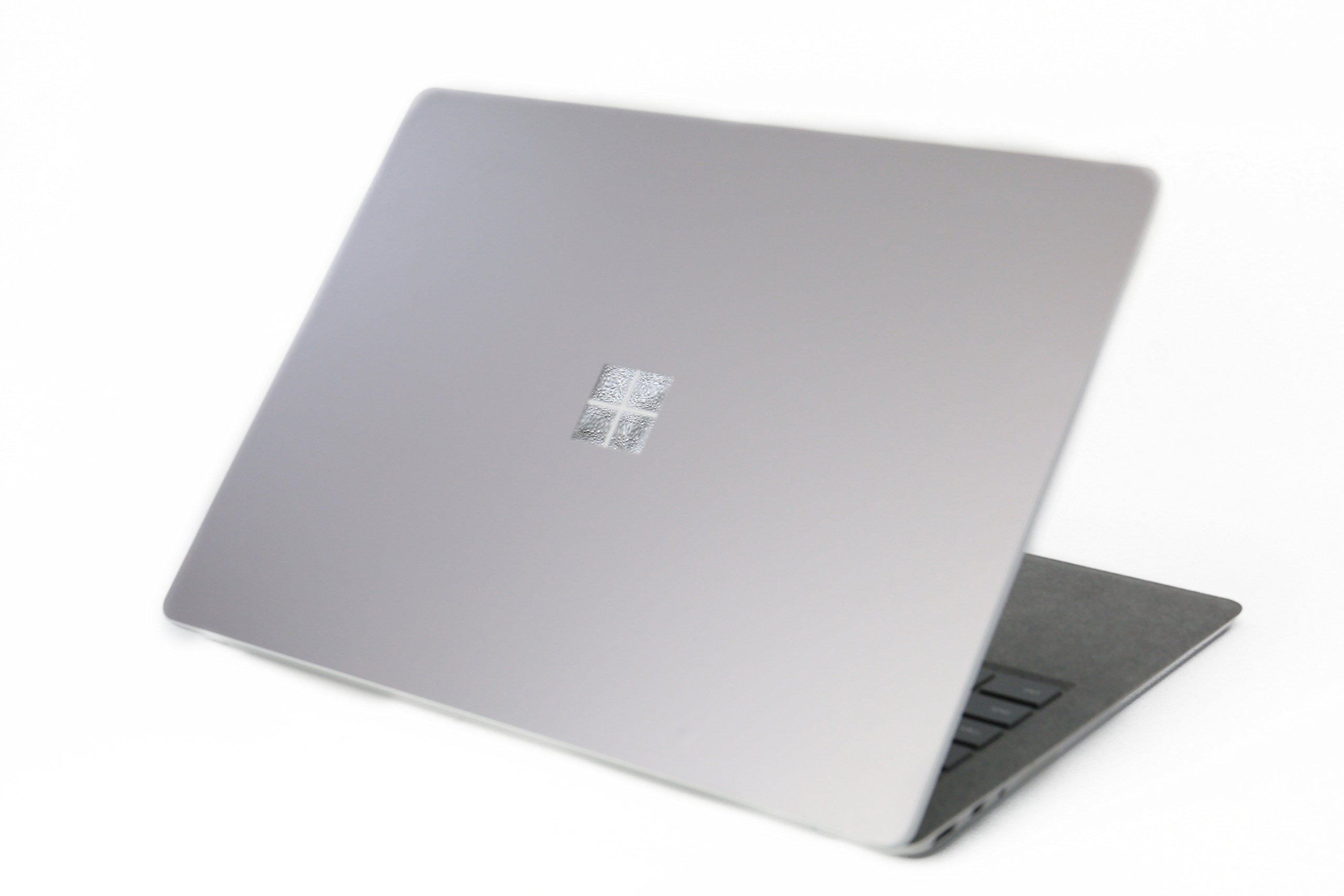 Leze - Surface Laptop Body Cover Protective Stickers Skins for Microsoft Surface Laptop - Space Grey