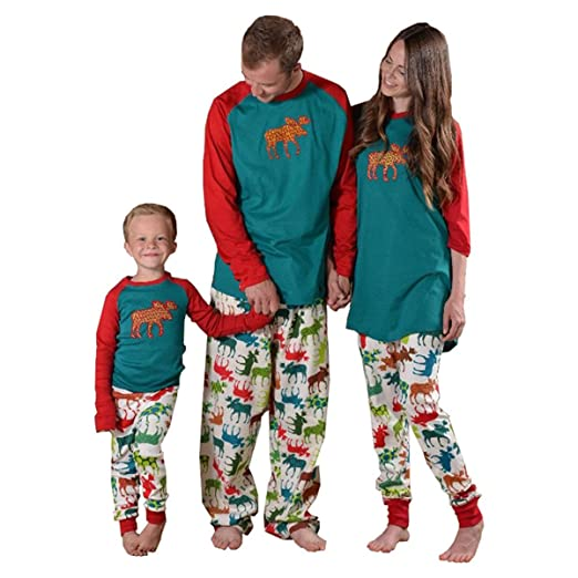 Reino Unido clásico ropa deportiva de alto rendimiento Pijamas de Navidad a juego para toda la familia, diseño a rayas ...