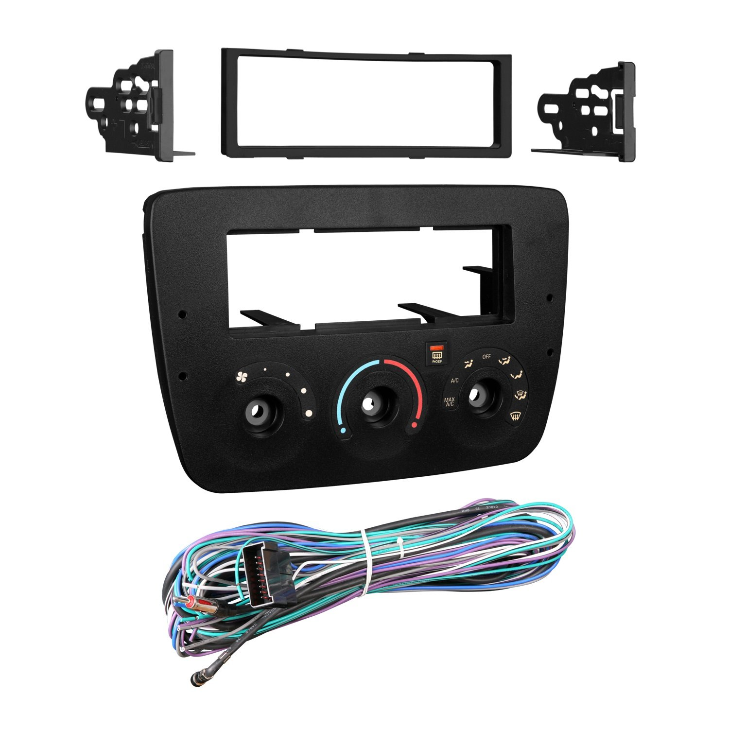 718FgFG3GhL._SL1500_ amazon com metra 99 5716 dash kit for taurus sable 00 03 kit with Aftermarket Radio Wiring Harness at bayanpartner.co
