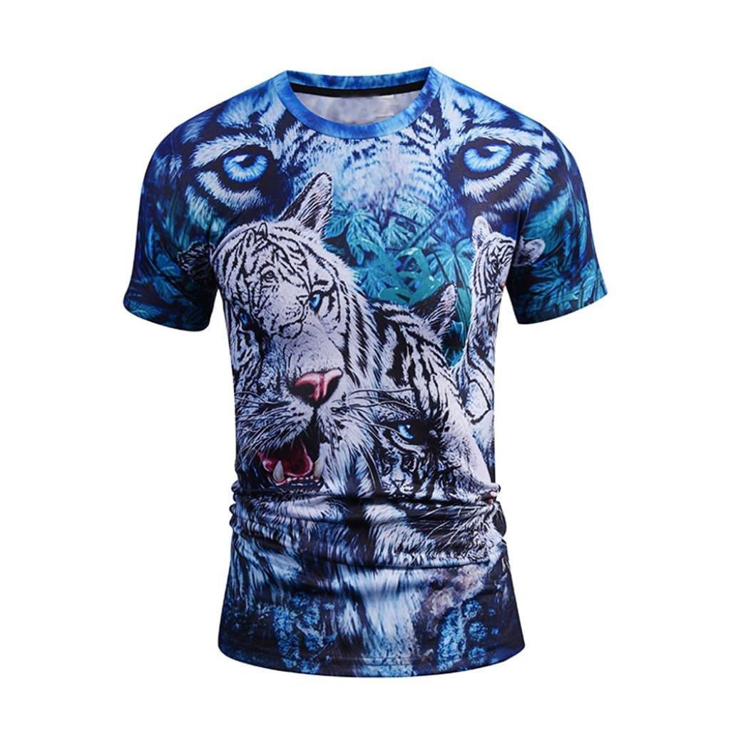 Magliette da Uomo, OHQ Moda
