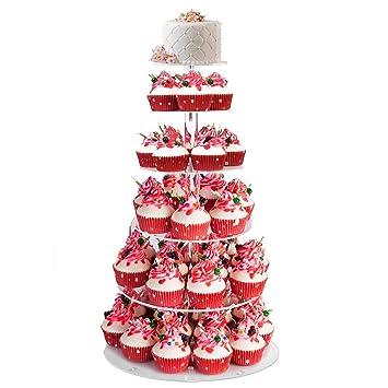 Bathwa Etagere 6 Stockig Tortenstander Tortenetagere Cupcake Stander