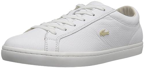 d1aad4dd6ef294 Lacoste Women s Straightset 316 3 Caw Wht Fashion Sneaker  Buy ...