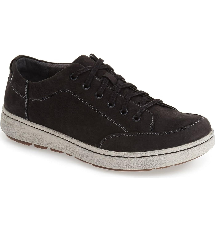 ダンスコ シューズ スニーカー Dansko 'Vaughn' Water-Resistant Sneaker Black Mill [並行輸入品] B07C3NK2PK