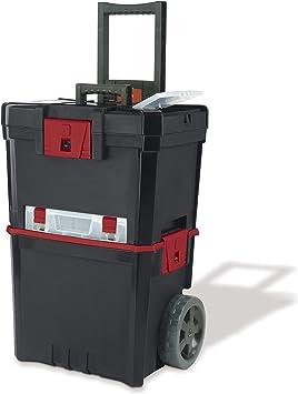 Keter 231805 Caja de herramientas en ruedas Martillo Mastercart ...