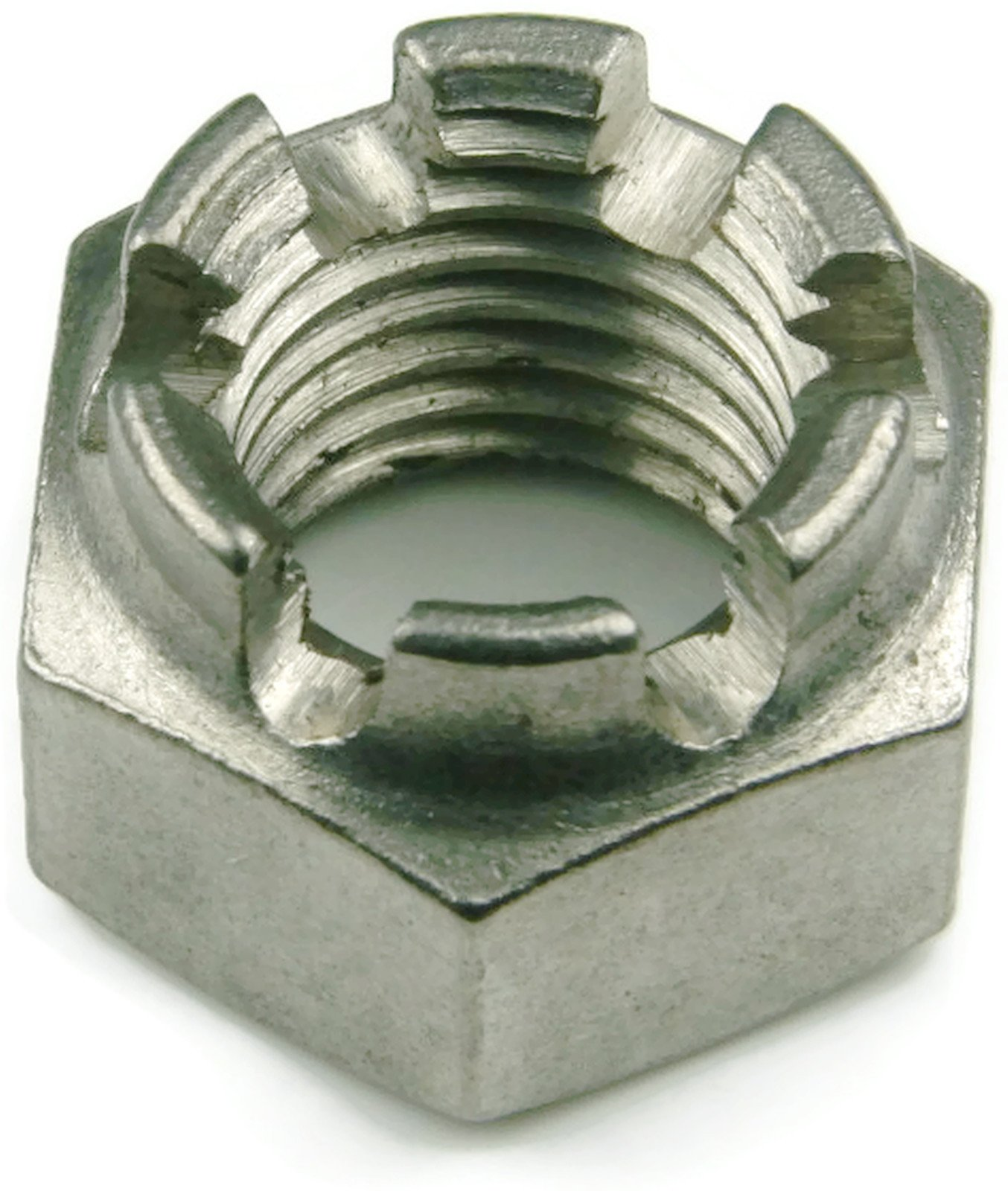 Castle Nuts 18-8 Stainless Steel - 5/8-18 Each