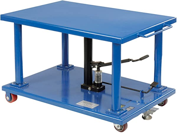 Work Positioning Post Lift Table Foot Control 48 X32 Platform 2000 Lb Capacity Everything Else