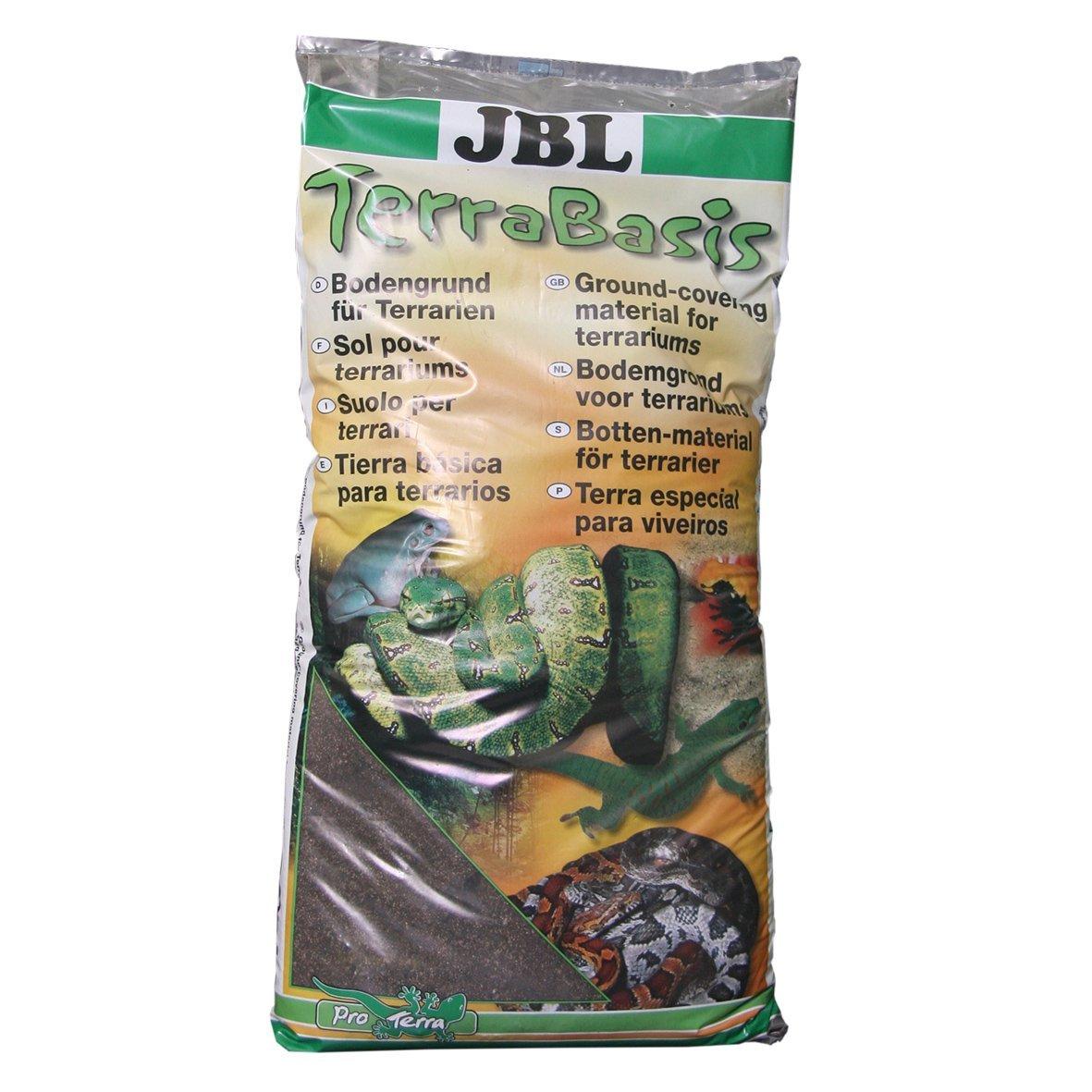 JBL suelos y terrarios tropicales, tierra especial sin fertilizantes, base de tierra 7101200