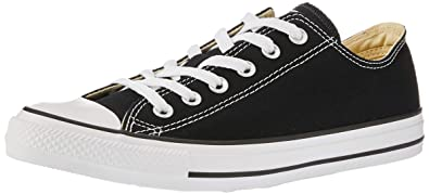 13de45947e9d5 Converse Unisex Chuck Taylor All Star Low Top Black Sneakers - 4 M US Big  Kid