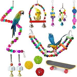 JSLZF Budgerigar, Parakeet, Conure, Cockatiel, Mynah, Love Birds, Finches