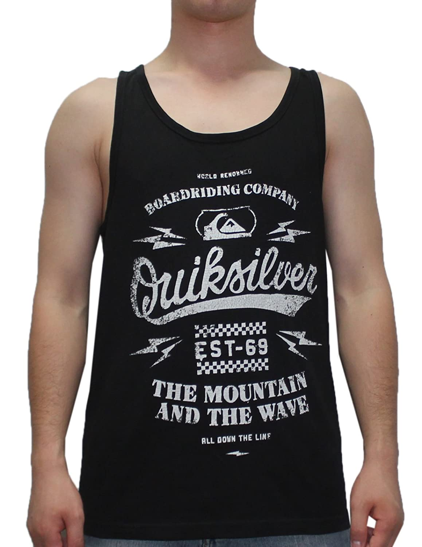 Quiksilver Men's Surf - Skate Crew-Neck Sleeveless Shirt / Vest Top