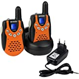Retevis RT-602 Walkie Talkie Ricetrasmittente 8 Canali VOX CTCSS/DCS Ricetrasmettitore per Bambini