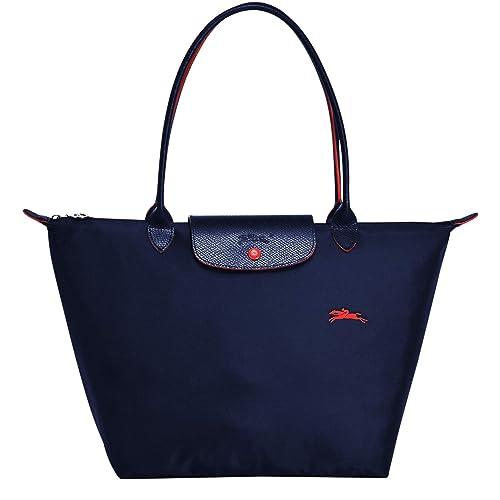 LONGCHAMP Le Pliage Club Large shoulder bag (Navy)  Amazon.co.uk  Shoes    Bags 5b57ec9e9cdc9