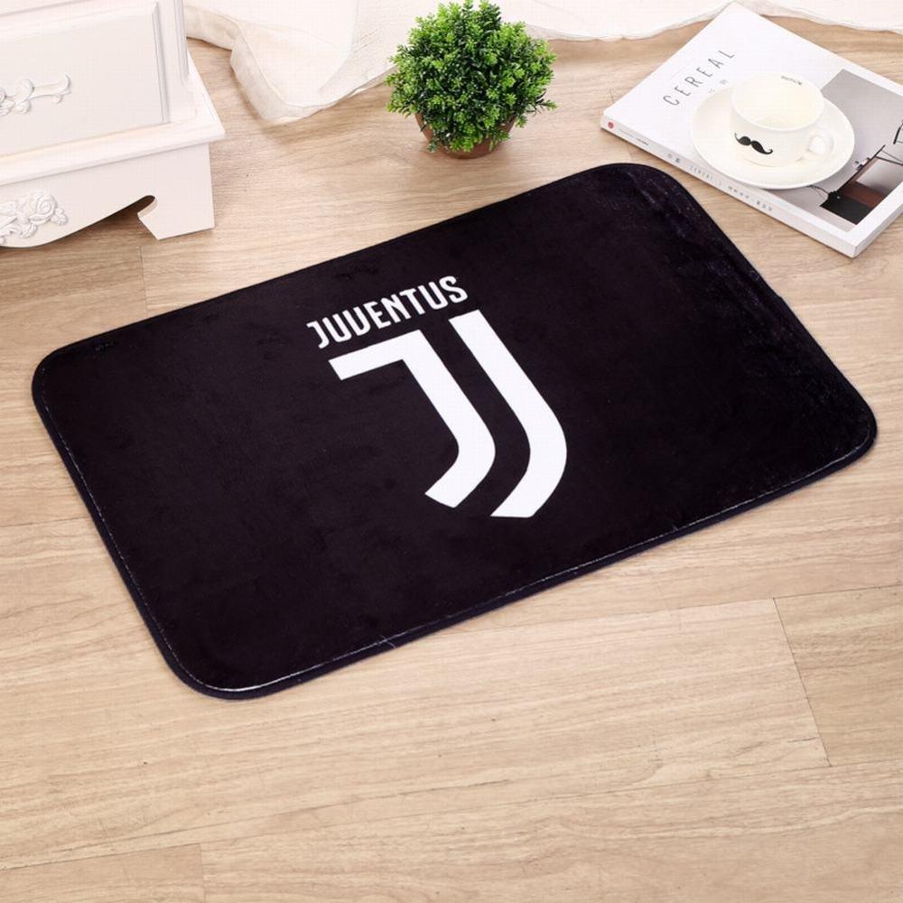 WEII Tappetini per porta spugna ispessita stampati con tappetini Logo Club di calcio Tappetini antiscivolo per uso domestico, Chelsea, 40 * 60cm