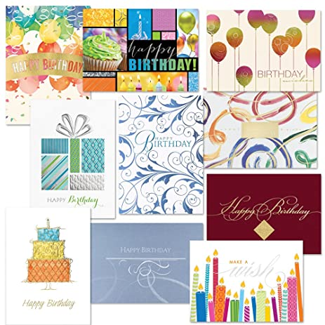 Birthday Card Traditional Assortment Pack
