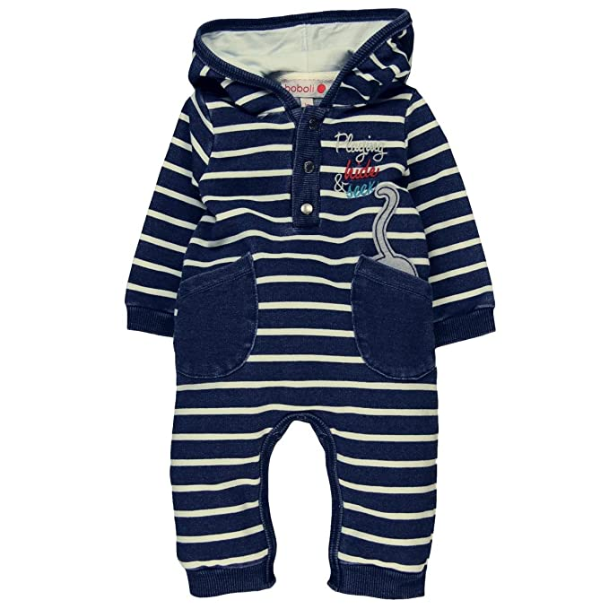 57d79efc8 boboli Fleece Play Suit Denim for Baby Pagliaccetto Unisex-Bimbi:  Amazon.it: Abbigliamento