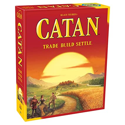 Jaynil Enterprise Catan Trade Build Settle Big Size Family Entertainment Board Game, Multicolor