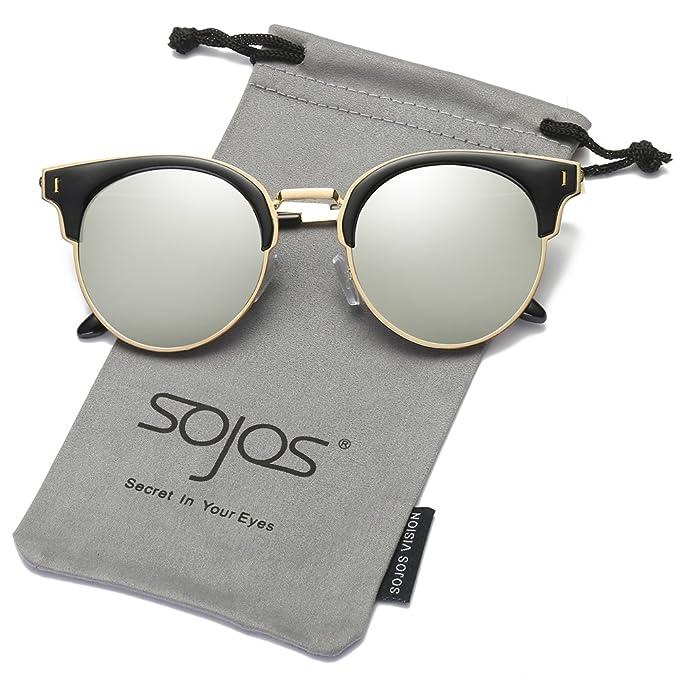 SojoS Gafas De Sol Hombre Mujer Unisex Polarizadas Marco ...