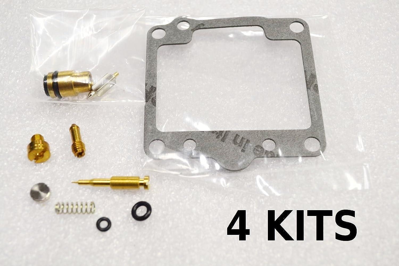 Deluxe Carburetor Carb Rebuild repair Kit Kawasaki 81-83 KZ1000 LTD J ELR CSR