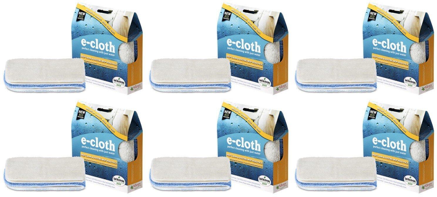 (10 PACK) - E-Cloth - Deep Clean & Dusting Mop Head | 2pack | 10 PACK BUNDLE