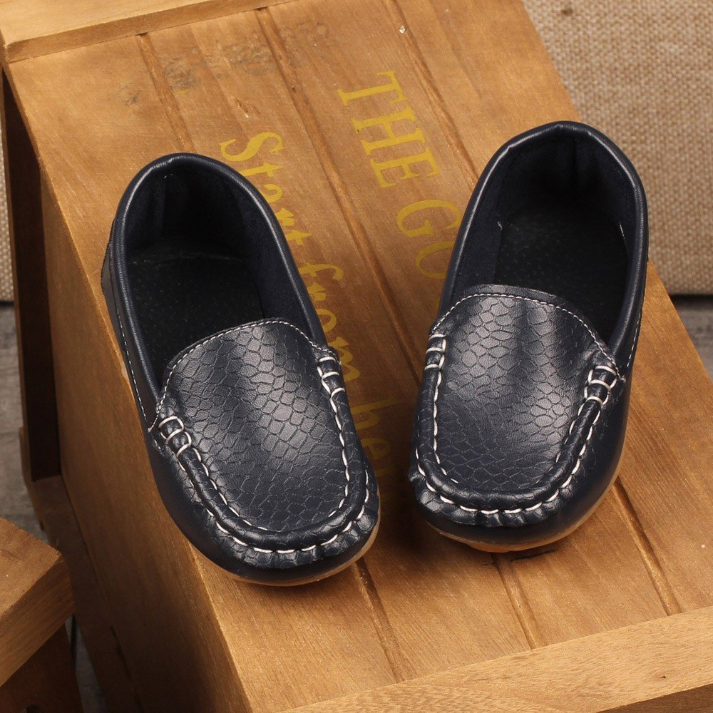Sensail Gar/çons Chaussure Bateau Cuir Couleur Unie Enfant Loisirs Confort Chaussures Fl/âneurs Chaussures Filles Gar/çons Mignonne Confort Glisser sur Su/ède Cuir Mocassins