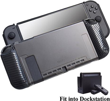 Estuche compatible para Nintendo Switch 3in1 Cubierta para PC ...