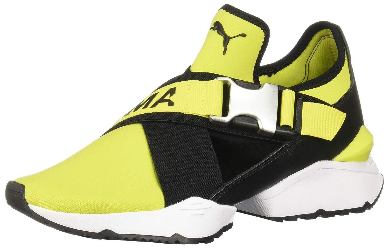 Puma Muse Eos Sneakers Neongrün Damen Schuhe Sneaker