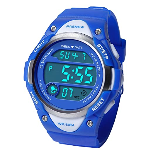 7999977a013 Image Unavailable. Image not available for. Color  HIwatch Kids Sport Watch  Water-Resistant Swimming LED Digital ...