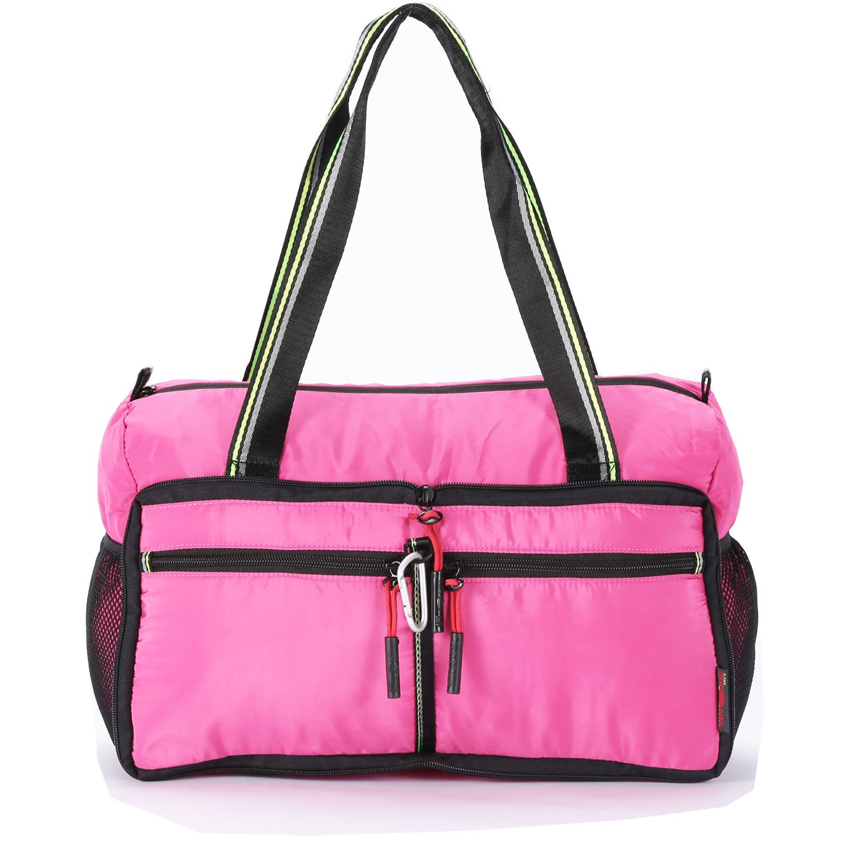 Waterproof Foldable Travel Bag Duffle Bag Handbag Clothes Organizer Storage Single Shoulder Bag Crossbody Bag Lightweight Large Carry Luggage Sports Gym Tote Bag