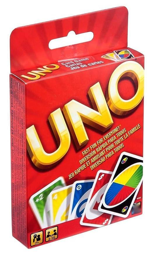 Juego de cartas UNO juego educativo nuevo a estrenar: Amazon ...