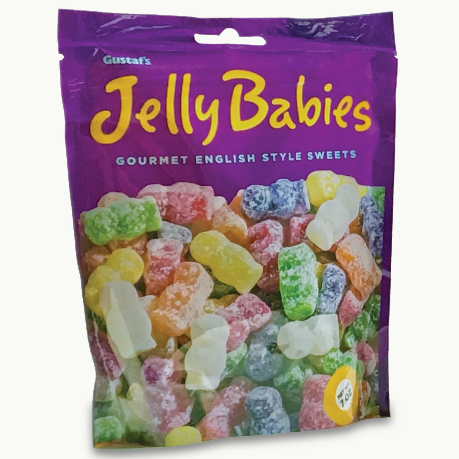 Gustaf's Jelly Babies, 2.2-Pound Bags (Pack of 3)
