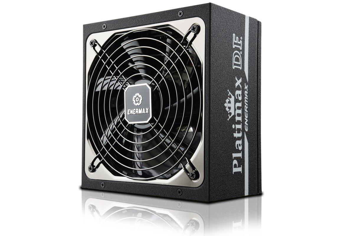 Enermax Platimax D.F. 850W EPF850EWT Alimentatore PC ATX 850W, totalmente modulare, 80 Plus Platinum, Nero