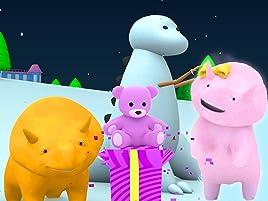 Aprende los colores y los números abriendo los regalos de Navidad y haciendo un Dino de nieve. Dino es un curioso pequeño dinosaurio que siempre tiene ganas ...
