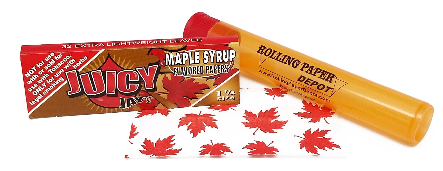 Amazon Com Juicy Jay S 1 1 4 Rolling Papers Chocolate