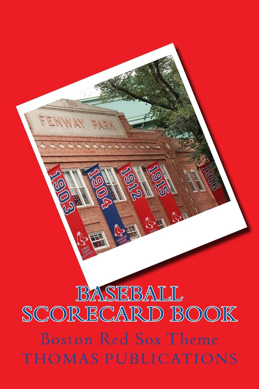 Download Baseball Scorecard Book: Boston Red Sox Theme pdf