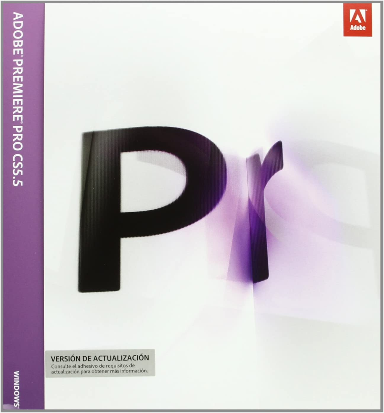 Adobe Premiere Pro Creative Suite CS5.5