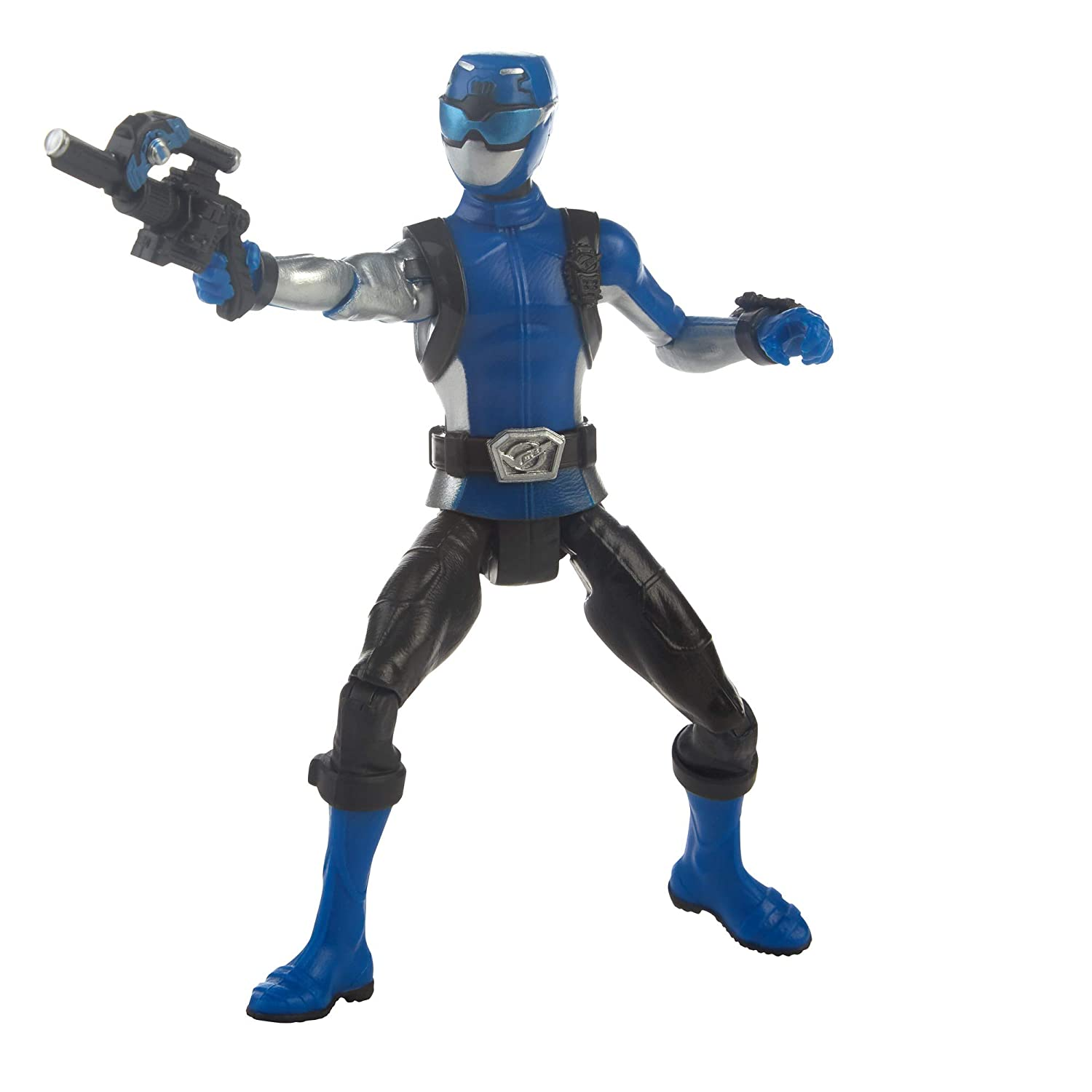 Hasbro Power Rangers Beast Morphers Blue Ranger 6 Action Figure Toy Inspired by The Power Rangers TV Show