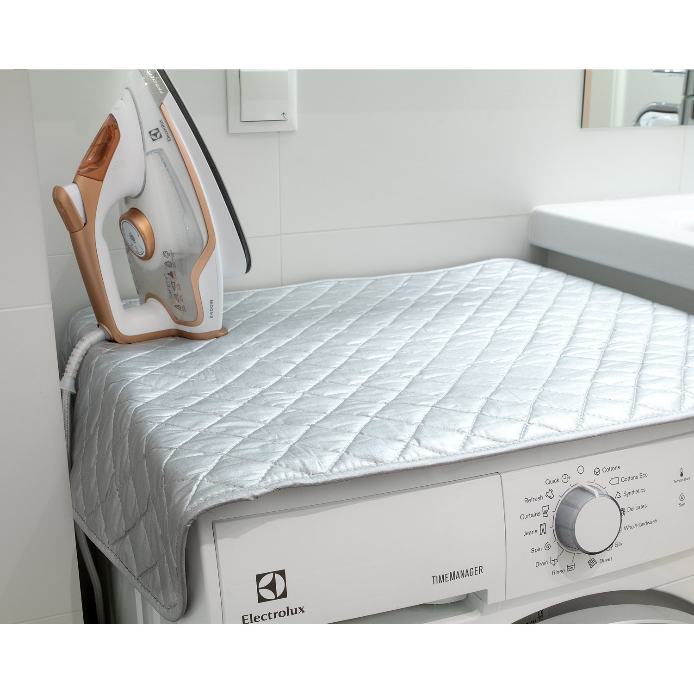 Wonder Worker Flat Magnetic Ironing Mat Heat Resistant Steaming Ironing Blanket, 33.5X19''