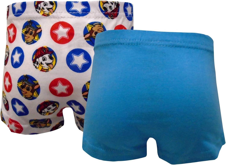 Paw Patrol 2 Pack Underwear Boxer Shorts