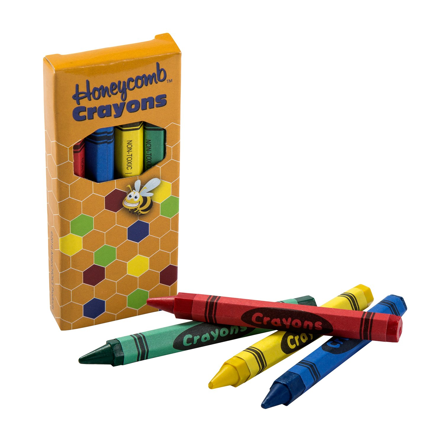 CiboWares 4 Color Honeycomb Boxed Crayons, Case of 500