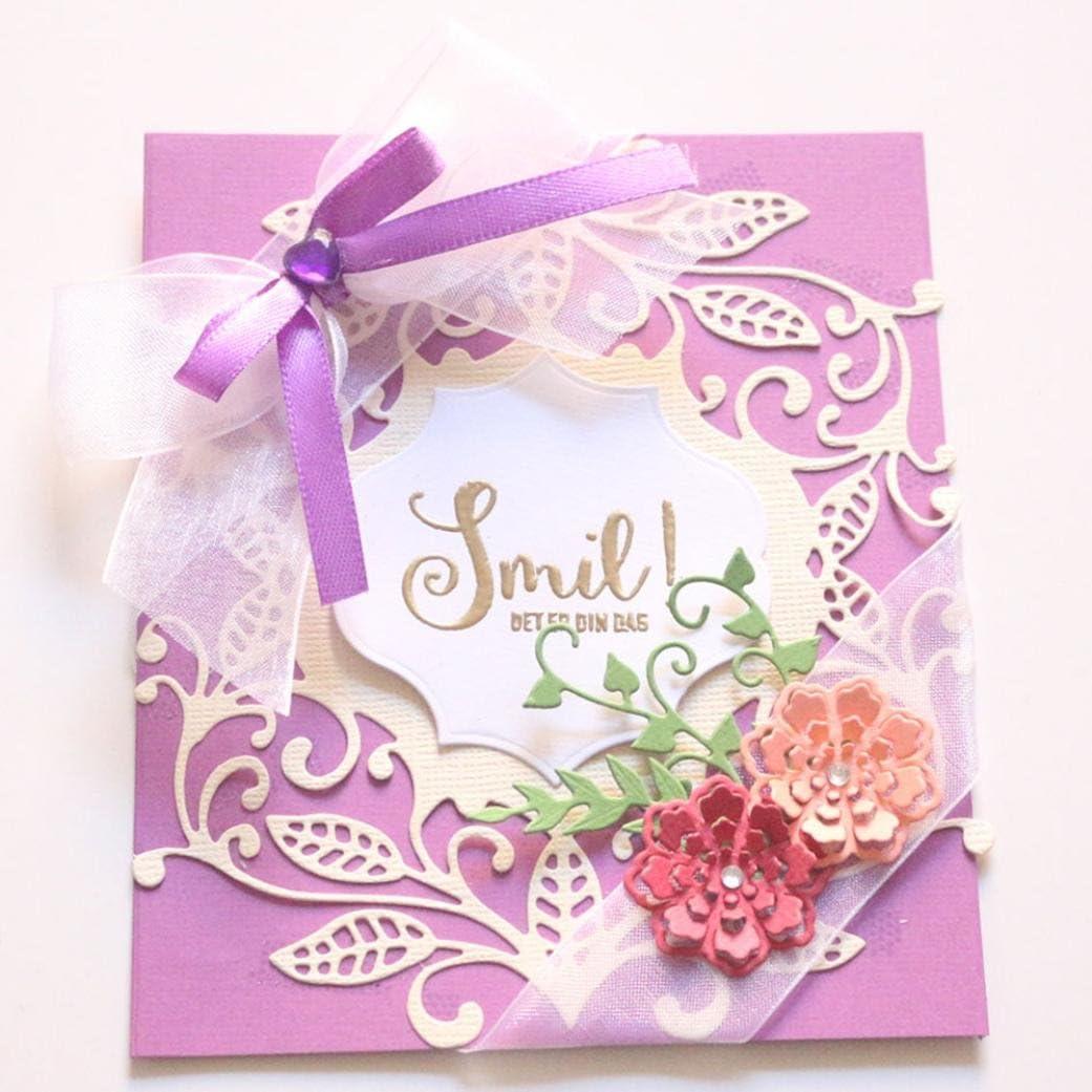 Die Cut Metal Cutting Die Nesting Happy Birthday Scrapbooking Paper craft album