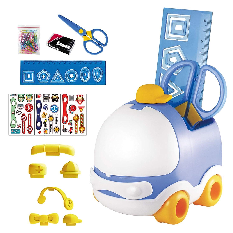 Set de escritorio infantil Dohe - Coche Azul: Amazon.es ...