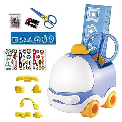 Set de escritorio infantil Dohe - Coche Azul: Amazon.es: Oficina y ...