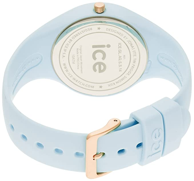 S.S.14 Ice-Glam Pastel Lotus Blue Small Watch: Watches