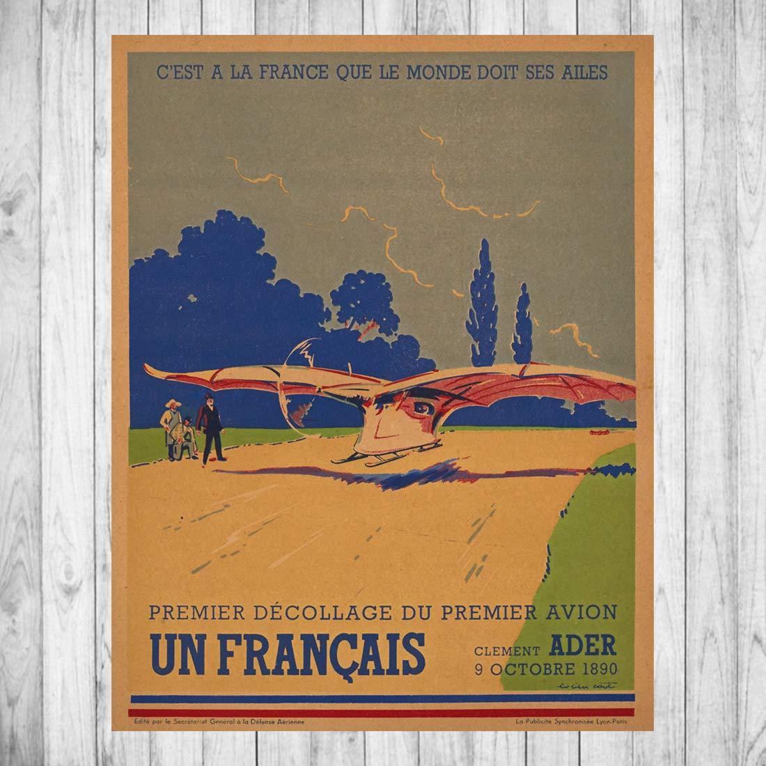 Solex D/éco reproduction daffiche vintage sur papier photo 250gr//m2