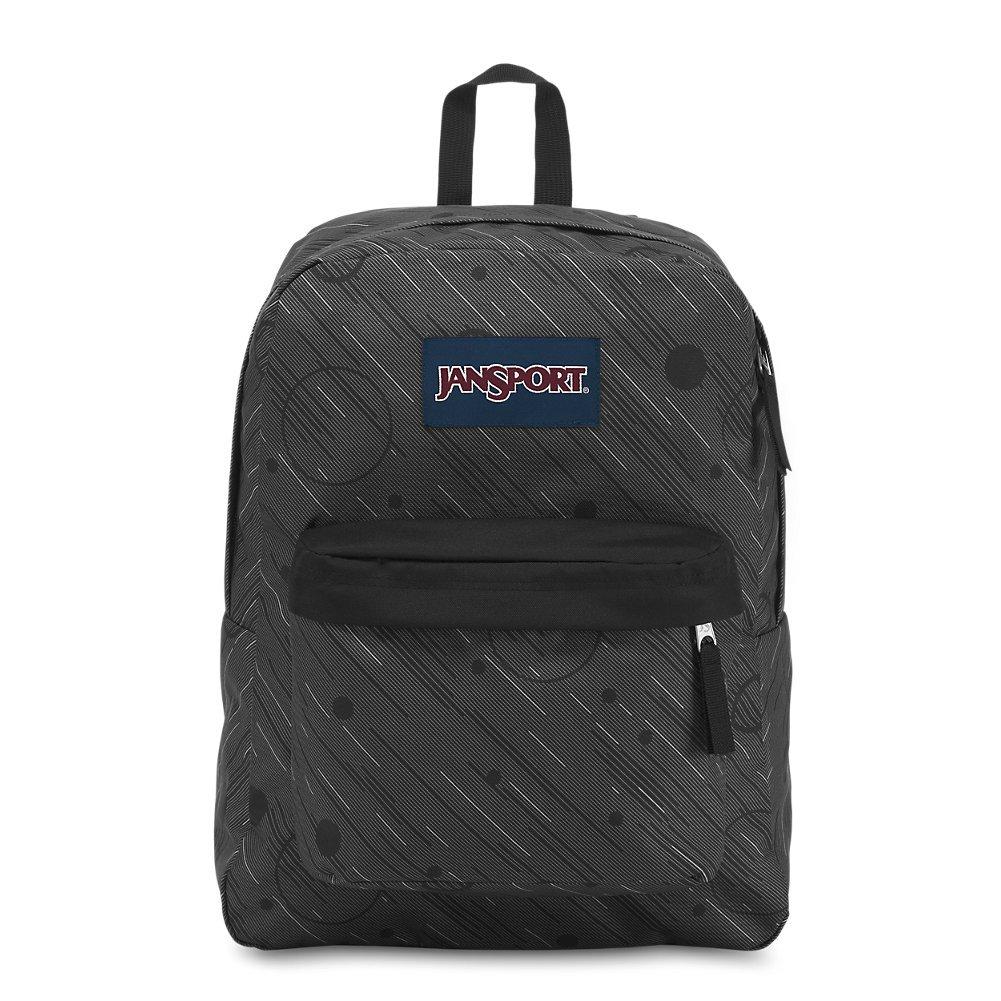 JanSport Superbreak Backpack - Black - Classic, Ultralight