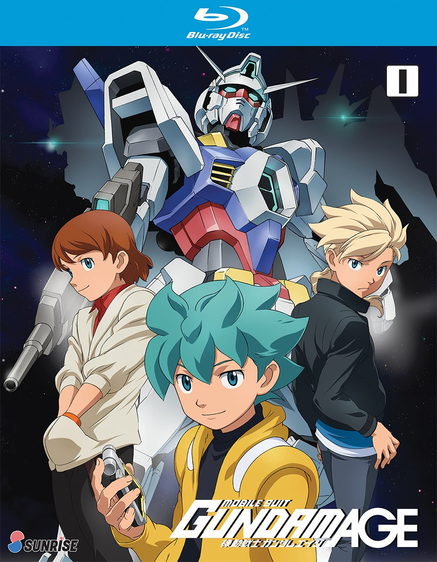 Blu-ray : Mobile Suit Gundam Age Tv Series: Collection 1 (Boxed Set, Widescreen, Subtitled, 4PC)