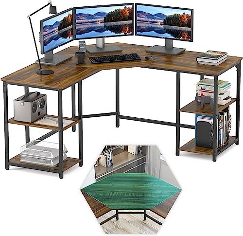 Elephance Large L-Shaped Computer Desk